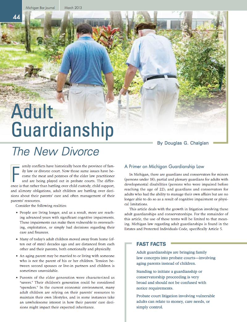 Adult Guardianship