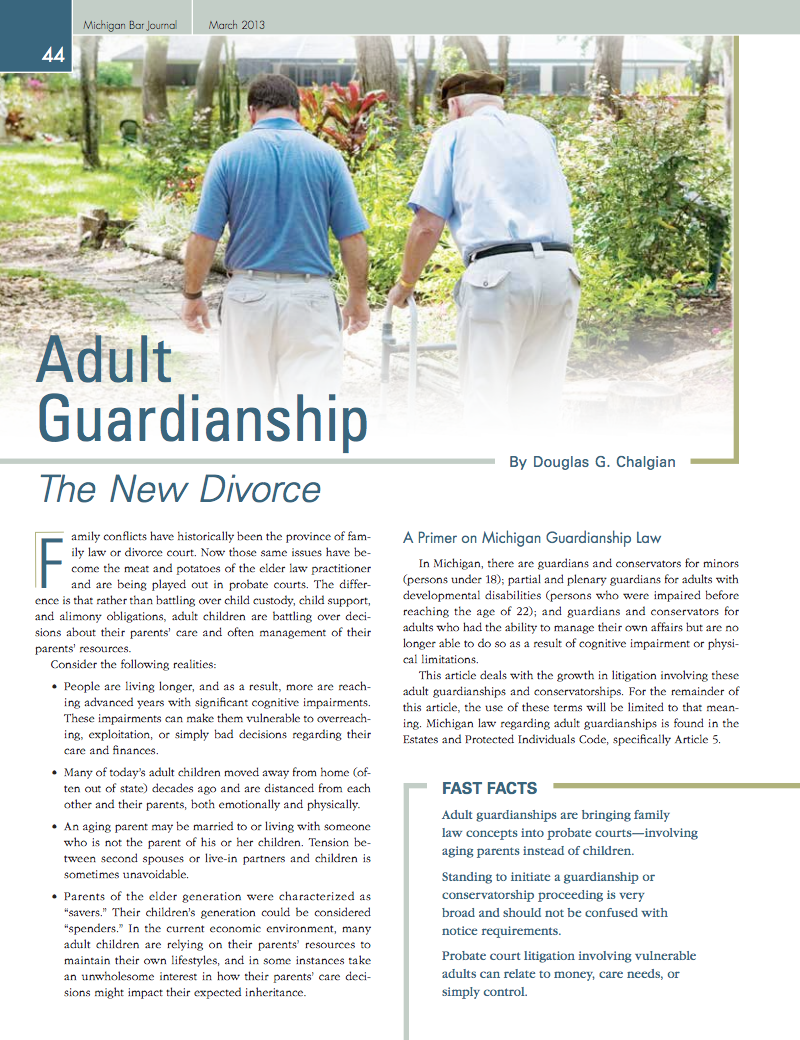 Adult Guardianship