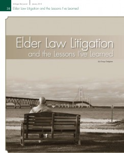 Elder Law Litigation and the Lessons I've Learned