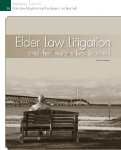 Elder Law Litigation and the Lessons I've Learned