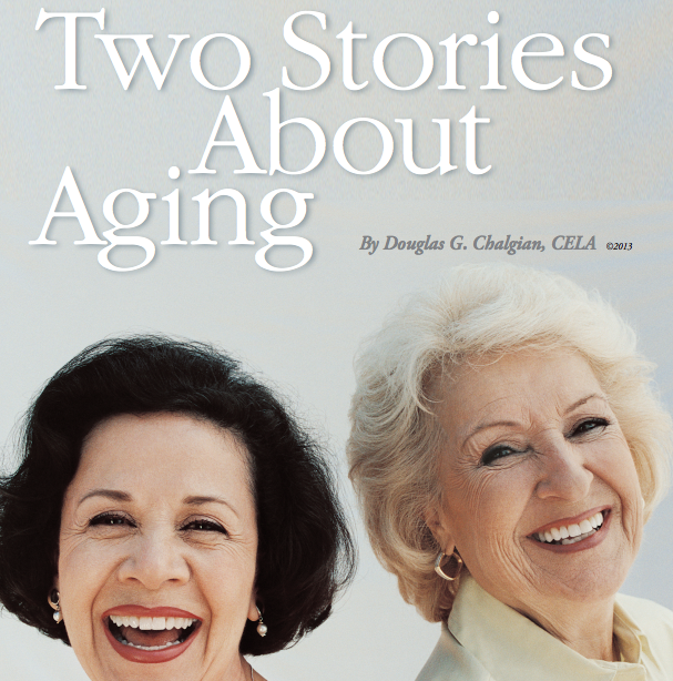 two stories about aging