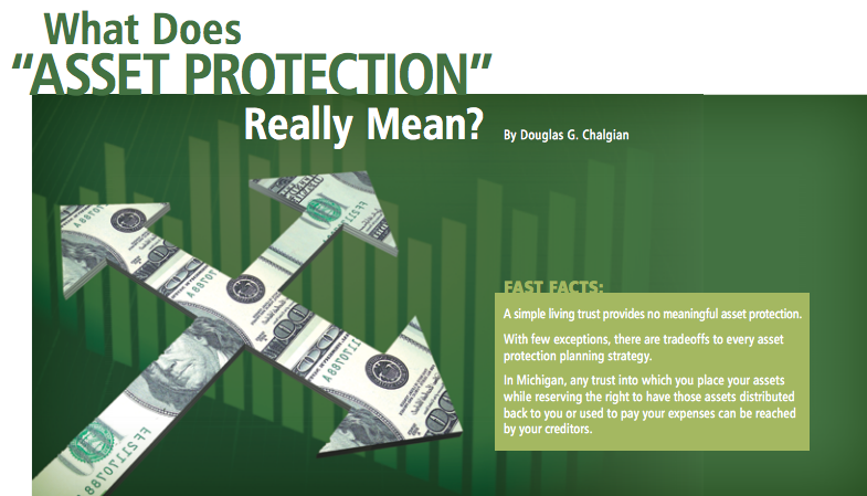 What does asset protection really mean