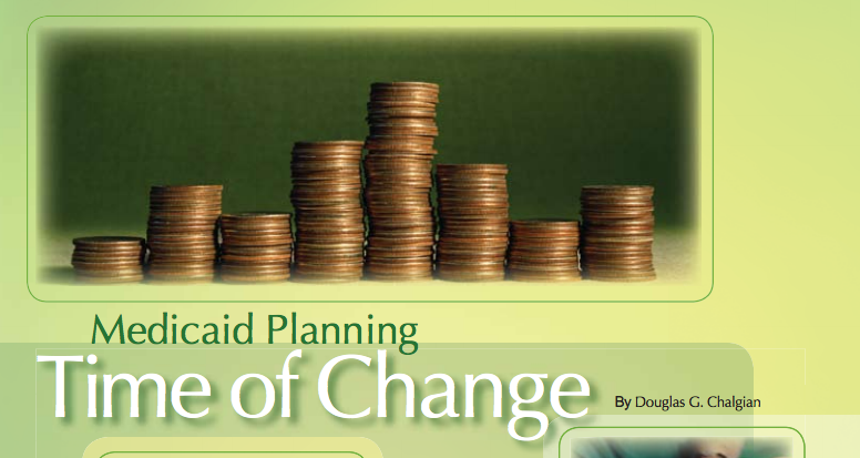Medicaid Planning: Time of Change