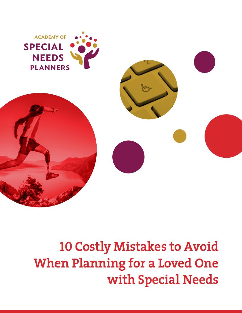 special needs planner
