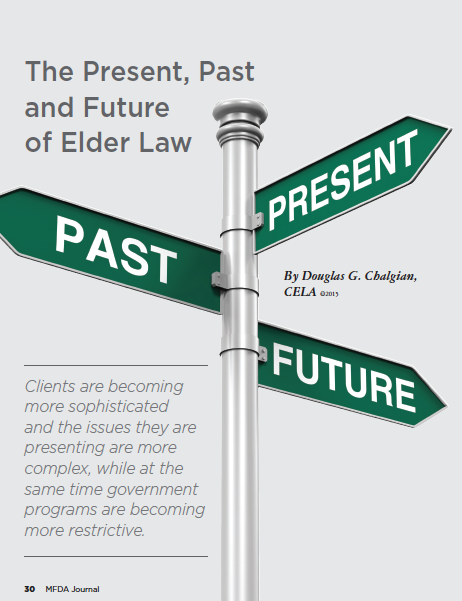 The present, past and future of elder law