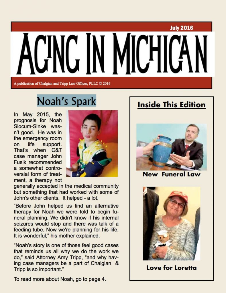 Aging In Michigan 2016