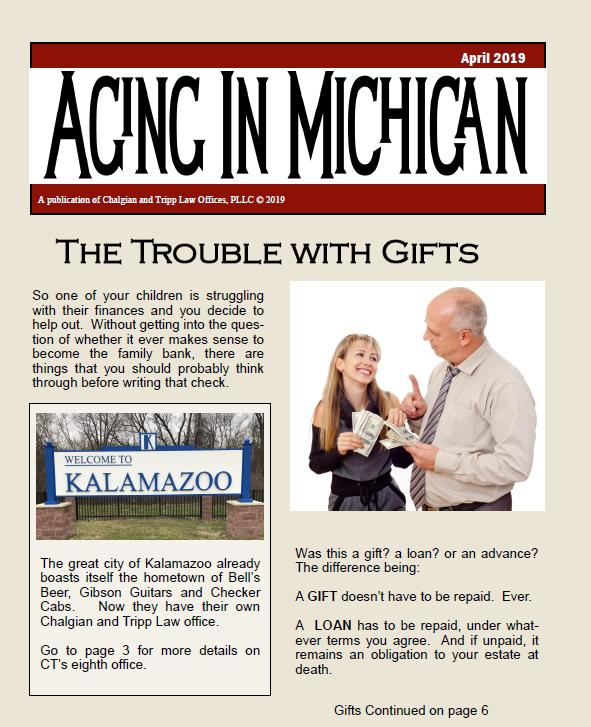 April 2019 Newsletter Cover