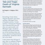The Cautionary Tale and Tragic Death of Virginia Kermath